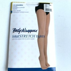 Body Wrappers Childre's Footed Dance Tights C20